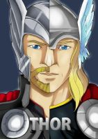 Thor by LadyDeadPooly