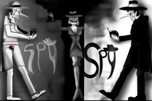 Spy vs Spy - another look by redadder515
