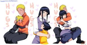 Uzumaki Hugs by shock777