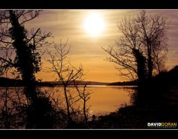 Setting o'er the Foyle by Dave-D
