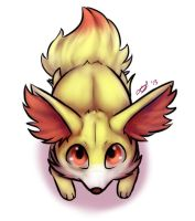 Fennekin by LoveBobu