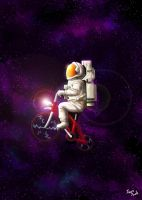 Space Bicycle by jazzjack-KHT