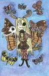 Death Moth Girl by ScorpionsKissx