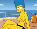 Marge topless animation by WVS1777