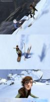 Snow race by Milady666