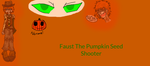 CrackNoodle OC Faust the Pumpkin Seed Shooter by ocean499