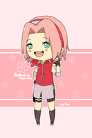 sakura by invaderk8