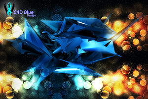 Blue C4D by Wexxer