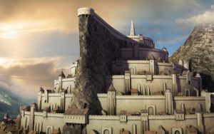 Minas Tirith by 40in