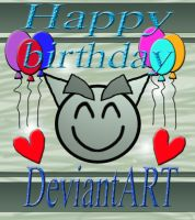 HAPPY 12th BIRTHDAY DeviartART by x1thegirl