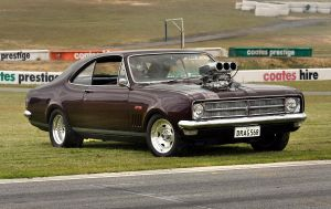 blown 68 gts monaro front by RaynePhotography