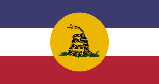 United Provinces of America Flag by moxn