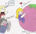 enki and his favourite fruit by Florciita
