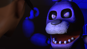 (SFM) (FNAF) Bonnie Poster by PFT-Production