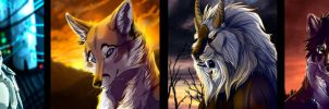 Lobothewolf icon.comm by WolfRoad