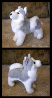 Douglas Cuddle Toys - Mini Husky Plush by The-Toy-Chest