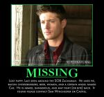 Missing Dean by calceil