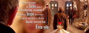 Doctor Who - Facebook Cover Photo by MrArinn