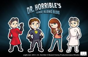 Dr. Horrible Chibis by argibi