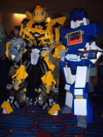 Transformers at Dragon Con by Scream01