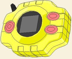Mika's Digivice by Camilia-Chan