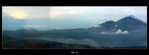 Mt.Batur - Morning by WSmieszek