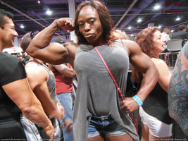 VIvacious Victoria Dominguez at the 2014 Olympia by zenx007