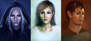 Commission: Portraits by acidlullaby