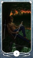 Four of Swords by Shegon