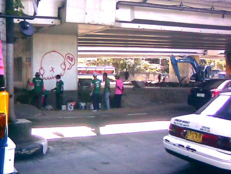 Okto posse in edsa by MutatioNation