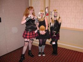 Misa cosplayers at Sugoicon by Kawaii--Koneko