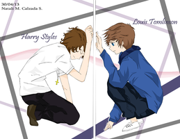 Larry Stylinson by TifaStrife01