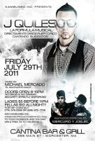J Quiles Flyer by DeityDesignz