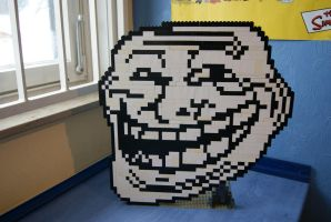 LEGO Trollface by ProfMadness
