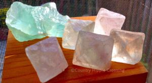 Fluorite, for Discernment by CountryHippie