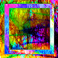 Nightmare Abstract 110: The Tiny Square Hole by TheSkull31