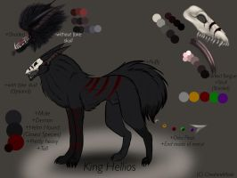 King Hellios Reference by CheshireMask