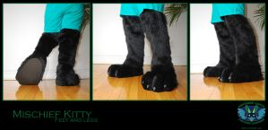 Mischief Kitty Feet and Legs by Wolfbird