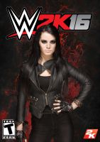 WWE 2K16 Custom Cover Paige by MilanRKO