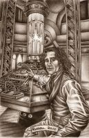 The 8th Doctor by Bungle0