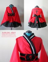 Ed Elric  - Fullmetal Alchemist - Kimono Dress by DarlingArmy