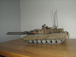 Leopard 2A6M Canadian by Defibulator