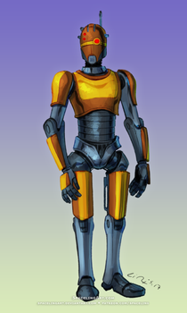 Combat Droid by SpacelingArt