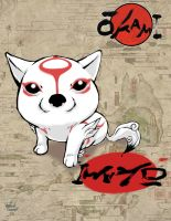 okami for the wii entry by TwilightChapter