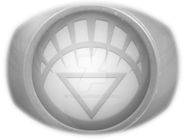 White Lantern Ring Coloured by KalEl7