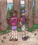 Day Out With The Mystery Twins by GangsterLovin
