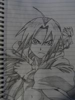 Edward Elric by DannyR2078