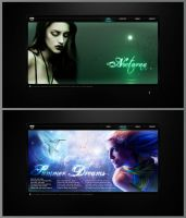 Nocturna website concept by conzpiracy