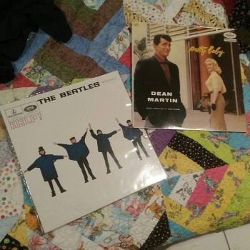 Two favourites from my small collection of records by silentsketcher97
