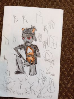 my brother as a troll by alixandria55555